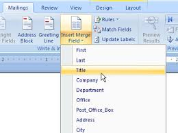 office 2013 mail merge word 2007 mail merge u2014 step 4 inserting fields into the main