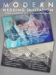 modern wedding invitation 22 modern and unique wedding invites
