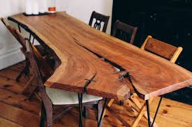custom made dining room tables dining room table new perfect live edge dining table design