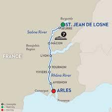 Provence France Map France Provence River Cruise Avalon Europe Cruises