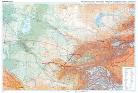Kyrgyzstan Map Maps The Long Road To Venice