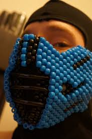 Kandi Mask Sub Zero Kandi Mask By Halodiablo Kandi Photos On Kandi Patterns