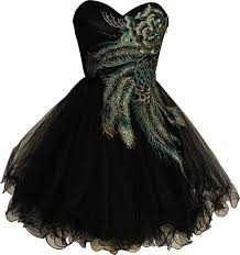 amazon com metallic peacock embroidered holiday party homecoming
