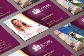 real estate business card template by g design bundles