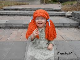 Halloween Costumes Wigs Cabbage Patch Wigs Doll Wig Cabbage Patch Inspired Baby Hat Baby