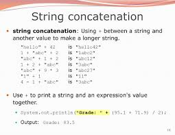 1 building java programs chapter 2 lecture 2 1 expressions and