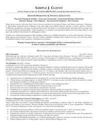 executive resume formats and exles financial executive resume format image exles resume sle