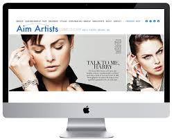 makeup artists websites aim artist agency g a n e s h a m e d i a