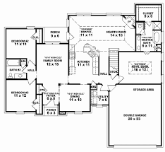 3 bed 3 bath 3 bedroom house plan 2 story beautiful house floor plans 2 story 4