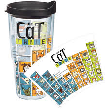 periodic table of dogs tervis tumblers cat periodic table wrap tumbler with lid tervis