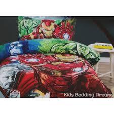 Superhero Double Duvet Set Avengers Age Of Ultron Quilt Cover Set Double Bed Size Quilt