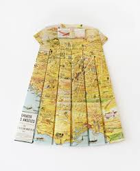 it u0027s nice that maps transformed into pretty dresses by elisabeth