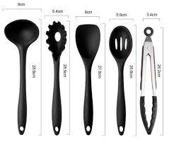 ustensile de cuisine silicone lot 10 ustensiles de cuisine en silicone spatule fouet louche