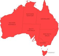 Australian Map Australia Map Vector Hard Rejected Envato Forums