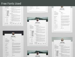 Free Resume Template and Cover Letter on Behance