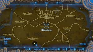 Wind Waker Map Zelda Breath Of The Wild Guide Where To Find The Phantom Armor