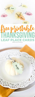 free thanksgiving place card printables printable crush