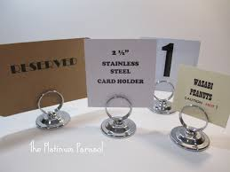 table number card holders silver table number stand silver table number holder 2 1 2