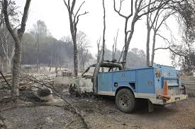 California Wildfires Burn Cars by More Than 180 Homes Destroyed By 2 California Blazes Tbo Com