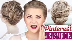Hochsteckfrisurenen Diy by Diy Hairstyles Fischgrätenzopf Und Haarkranz