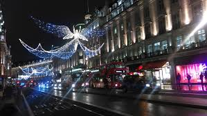 file christmas decorations regent street london december christmas