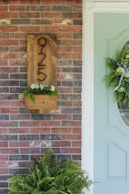 best 20 craftsman house numbers ideas on pinterest house trim how to make a vertical house number sign for your home exterior easily mountable right