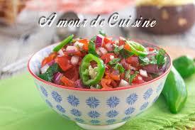amour de cuisine fr recette pico de gallo ou salsa a la tomate amour de cuisine