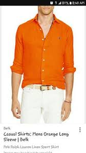 burnt orange men u0027s dress shirt the guys of texas pinterest