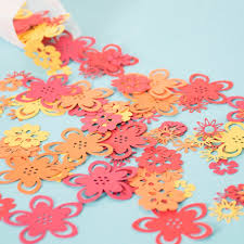 Tropical Themed Party Decorations - tropical flower table confetti luau party hawaiian party