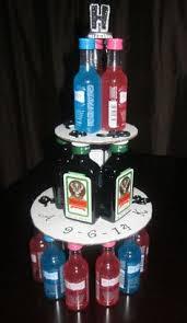 Liquor Bottle Cake Decorations Stock The Bar Wine Bottle