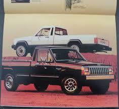 1988 jeep comanche jeep pickup trucks comanche j10 j20 original dealer sales brochure