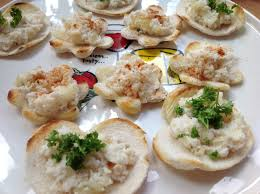 crab canapes devilled crab canapes goodfoodseeking