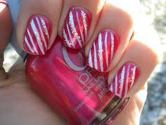 candy cane toes nail design ideas pinterest nail art
