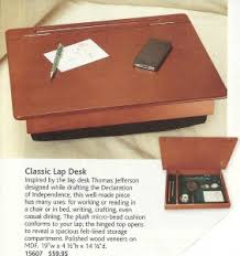 portable lap desk with storage so old fashioned it s revolutionary