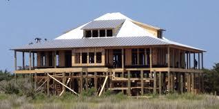 building on stilts stilt house plans elevated home plans coastal