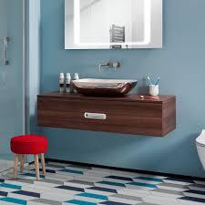 bauhaus seattle 120 wall hung single drawer vanity unit