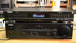 home theater equalizer philips eq 670 equalizer and philips fa 650 amplifier verstärker