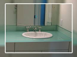 Glass Vanity Tops Glass Vanity Tops Make A Lovely Addition To A Bathroom And If You