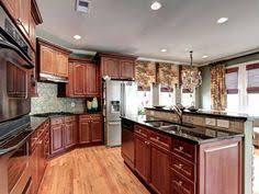 Kitchen Floors With Cherry Cabinets Hardwood Floors In Kitchens Pictures Cherry Cabinets With Wood