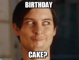Meme Birthday Cake - happy birthday blivvy