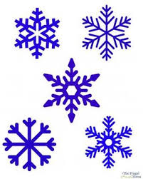 25 snowflake printables ideas burton kids