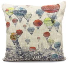 online shop shabby chic home decor colorful air balloon linen