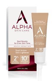 alpha skincare dual action skin lightener shop online