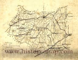 Va County Map Edward County