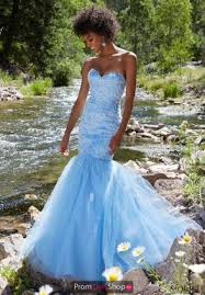 mermaid dresses at prom dress shop