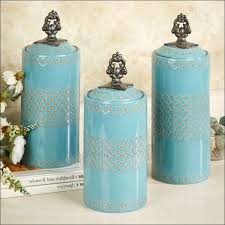 blue kitchen canisters kitchen kitchen canisters blue kitchen canister jar pottery jar
