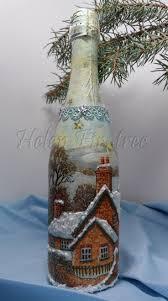 325 best декор бутылок новый год images on pinterest decorated