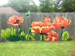 Flower Garden Ideas Flower Garden Fence Ideas Garden Fences Ideas Creative Garden