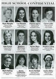 where to find high school yearbooks glee cast high school yearbook photos glee 11950671 500 700 jpg