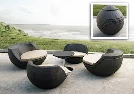 Outdoor Modern Dining Chair Furniture Striking Modern Outdoor Furniture Hometone Within